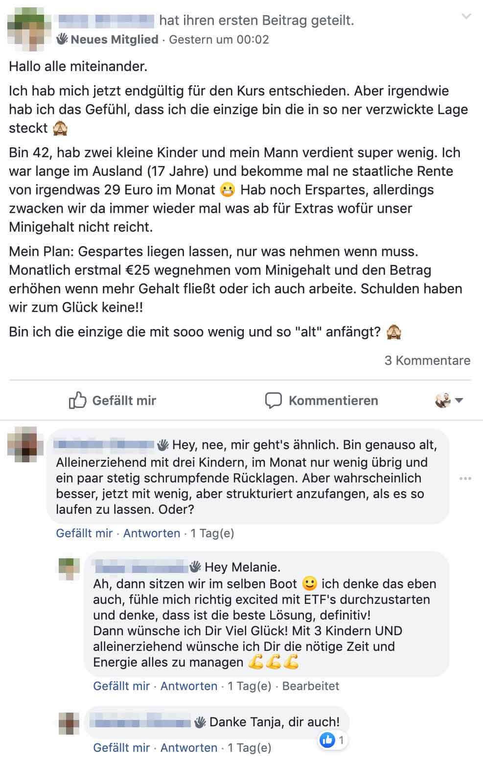 Facebook Gruppe - LazyInvestors