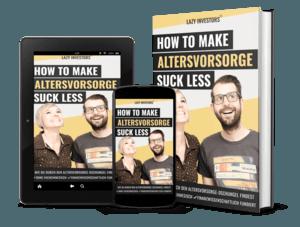 How To Make Altersvorsorge Suck Less - E-Book