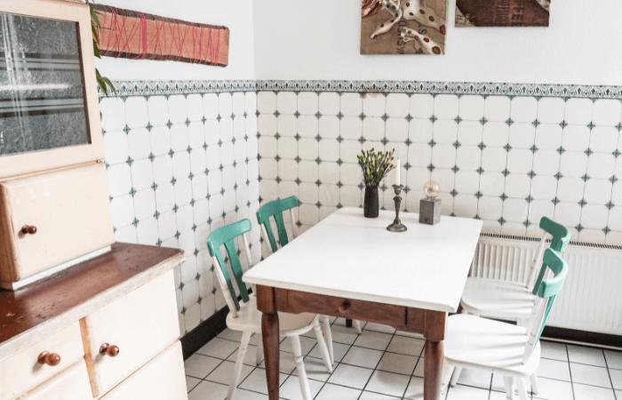 minimalistiche Küche