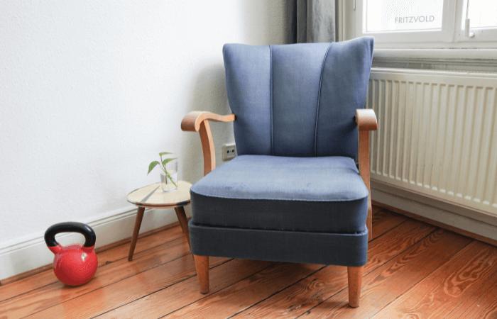minimalistische Sitzecke